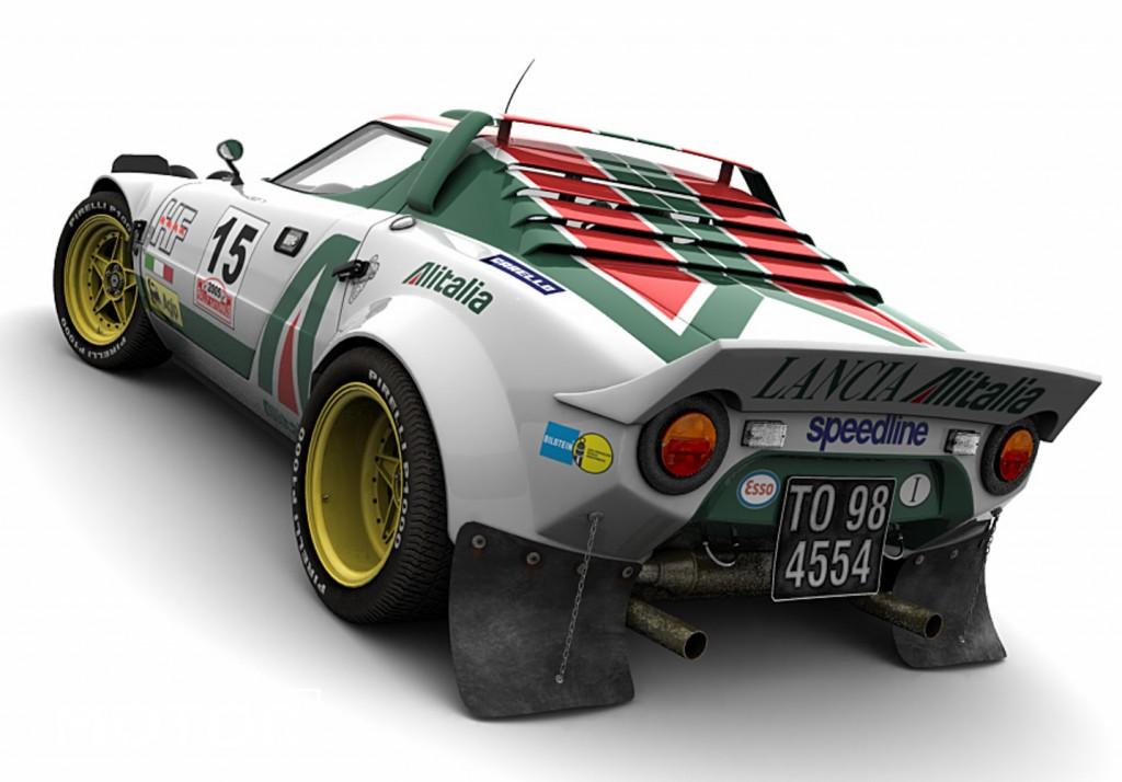 Lancia Stratos rallye