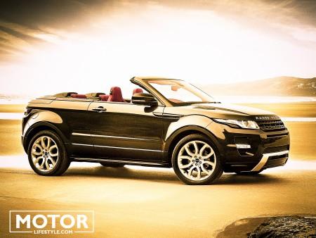 Evoque Range Rover cabriolet