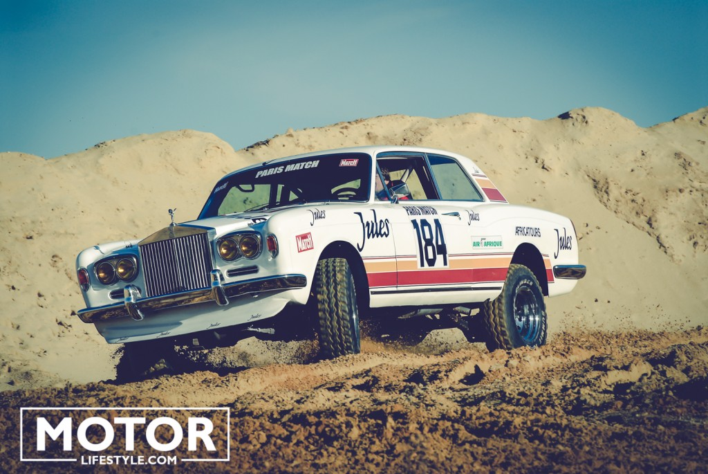 Rolls Paris Dakar 1981