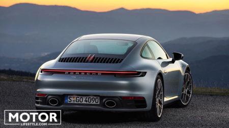 Porsche 991 type 992