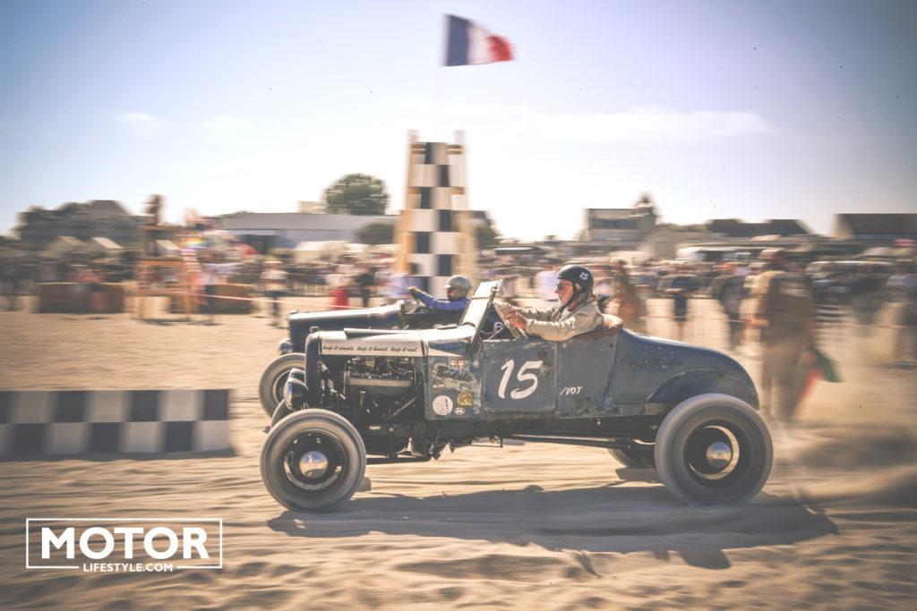 Normandy Beach race in Ouistreham