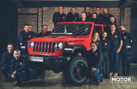 Indiancars Jeep garage préparation