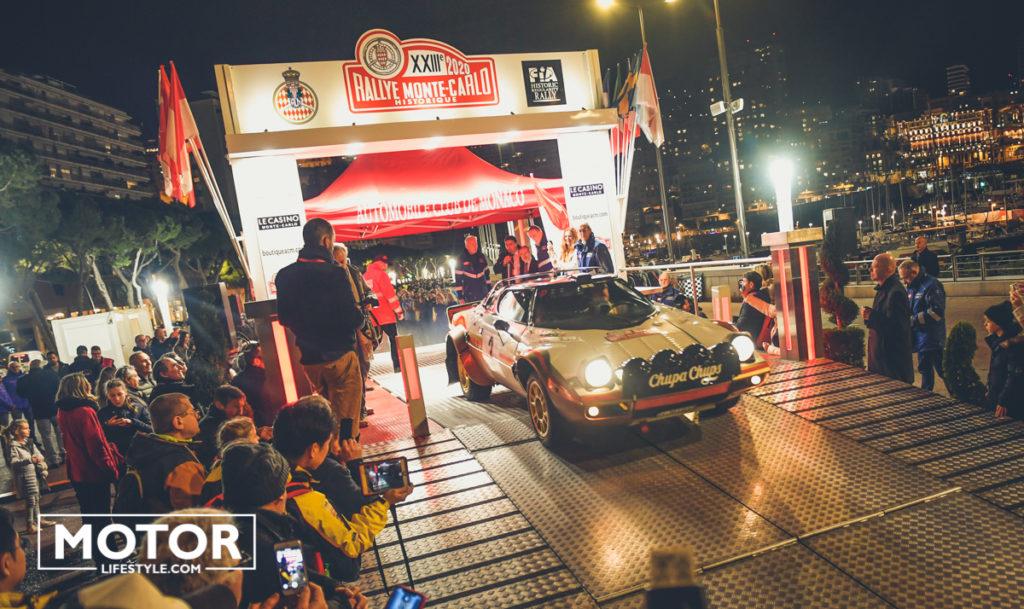 Rallye Monte carlo historique 2020