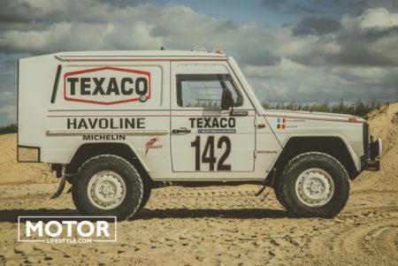Mercedes G Dakar rally 1983 Ickx Brasseur