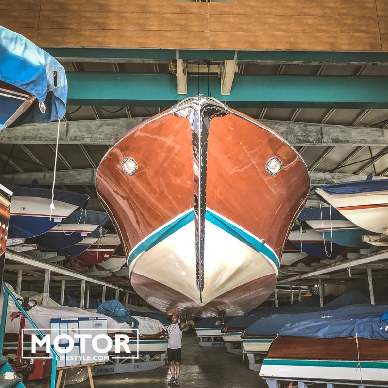 Riva Yacht Carlo Riva Rvia Bellini collection
