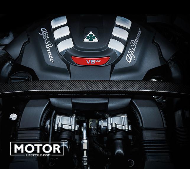 "Alfa Romeo Nouveau SUV Stelvio version ""Quadrifoglio"""
