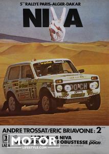 Lada niva paris Dakar André Trossat008