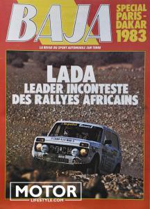 Lada niva paris Dakar André Trossat010