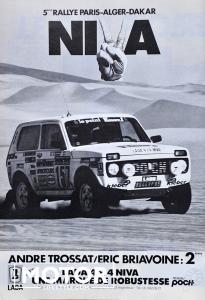 Lada niva paris Dakar André Trossat014