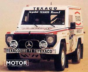 Mercedes G Dakar Rally Ickx Brasseur045